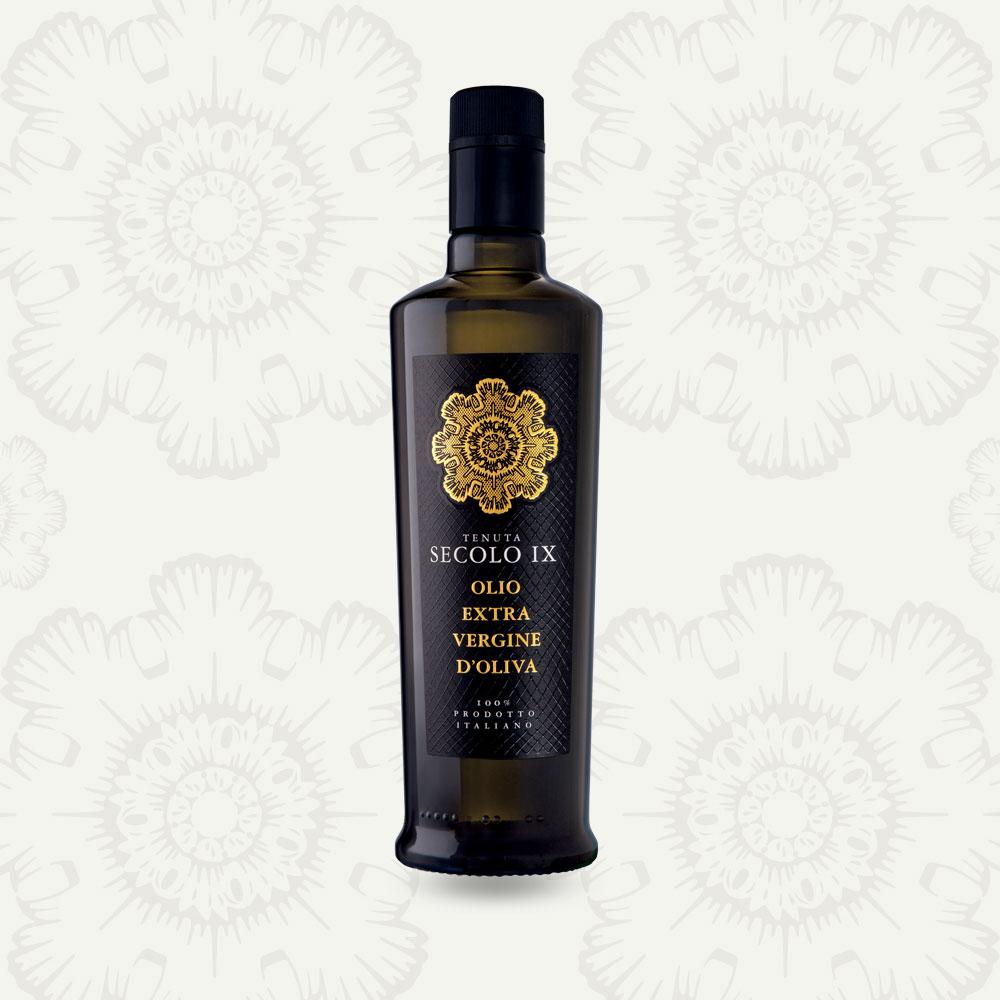 olio extra vergine d'oliva tenuta Secolo IX